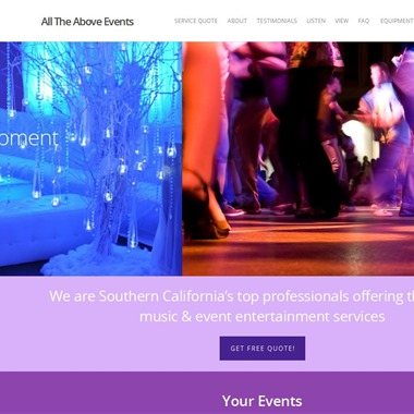 All The Above Events wedding vendor preview