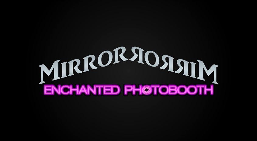 Mirror Mirror Enchanted Photobooth wedding vendor photo