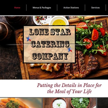 Lone Star Catering wedding vendor preview