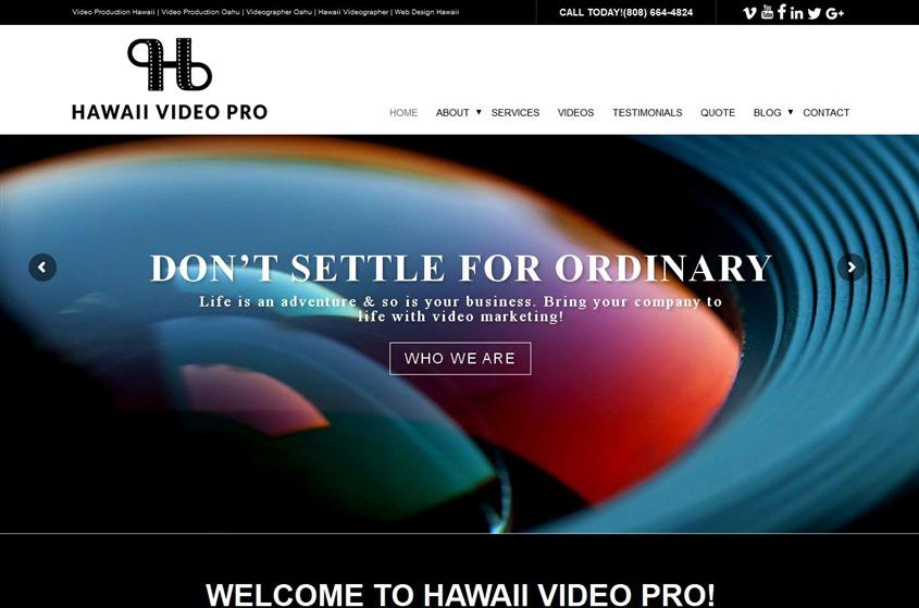 Hawaii Video Pro wedding vendor photo