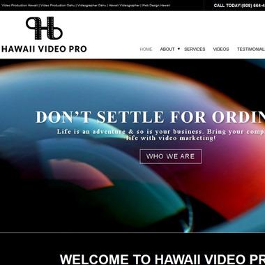 Hawaii Video Pro wedding vendor preview