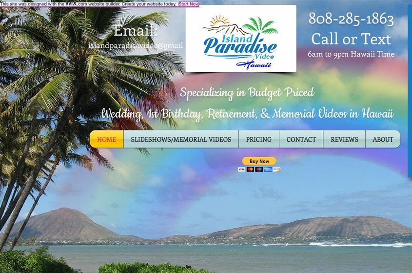Island Paradise Video wedding vendor photo