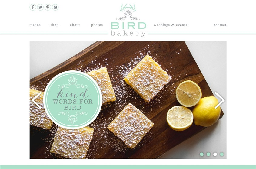 Bird Bakery wedding vendor photo