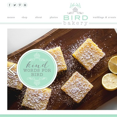 Bird Bakery wedding vendor preview