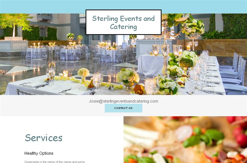 Sterling Events and Catering wedding vendor photo