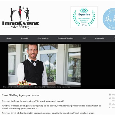 Inno Event Staffing wedding vendor preview