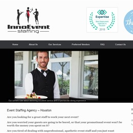 Photo of Inno Event Staffing, a wedding bartenders and waiters in Houston