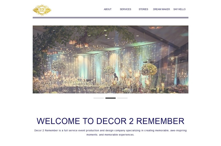 Decor 2 Remember wedding vendor photo