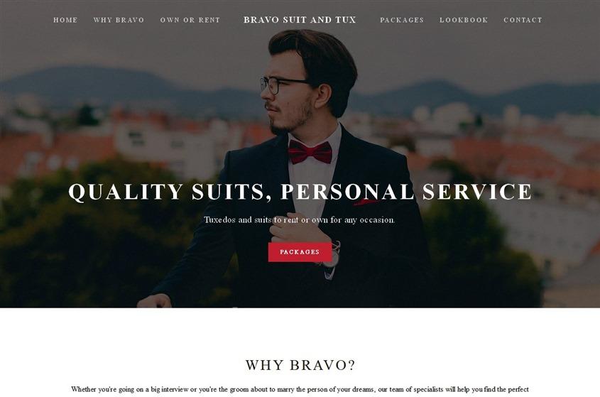 Bravo Suit & Tux wedding vendor photo