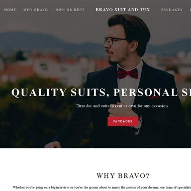 Bravo Suit & Tux wedding vendor preview
