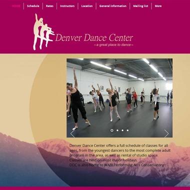 Denver Dance Center wedding vendor preview