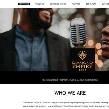 The Diamond Empire wedding vendor preview