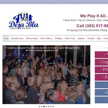 Deja Blu wedding vendor preview