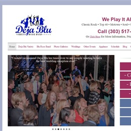 Photo of Deja Blu, a wedding musician in Denver