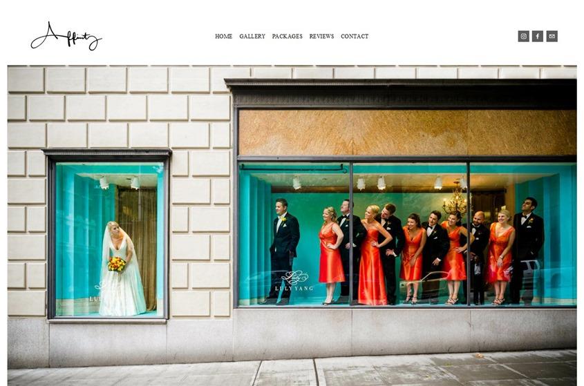 Affinity Photography  wedding vendor photo