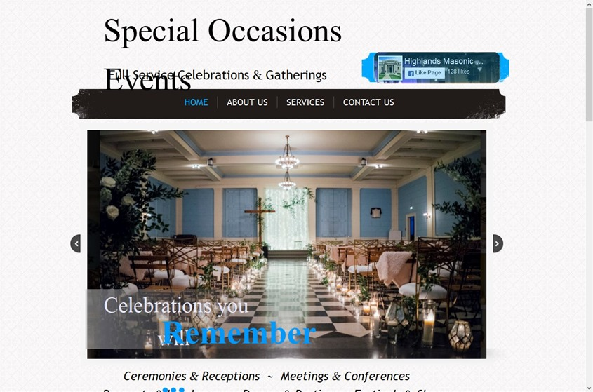 Special Occasions Events wedding vendor photo