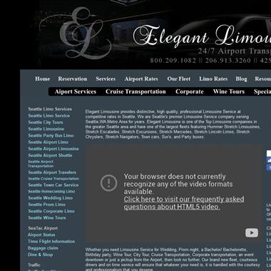 Elegant Limousines wedding vendor preview