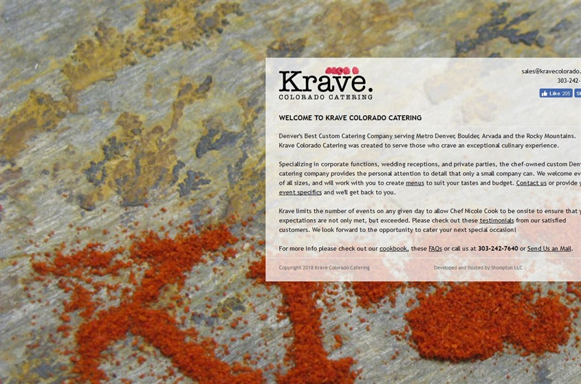 Krave Colorado Catering Denver Wedding Caterer