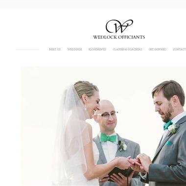 Wedlock Officiants wedding vendor preview