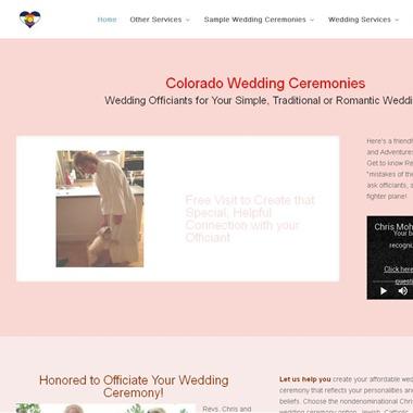 Colorado Wedding Ceremonies wedding vendor preview