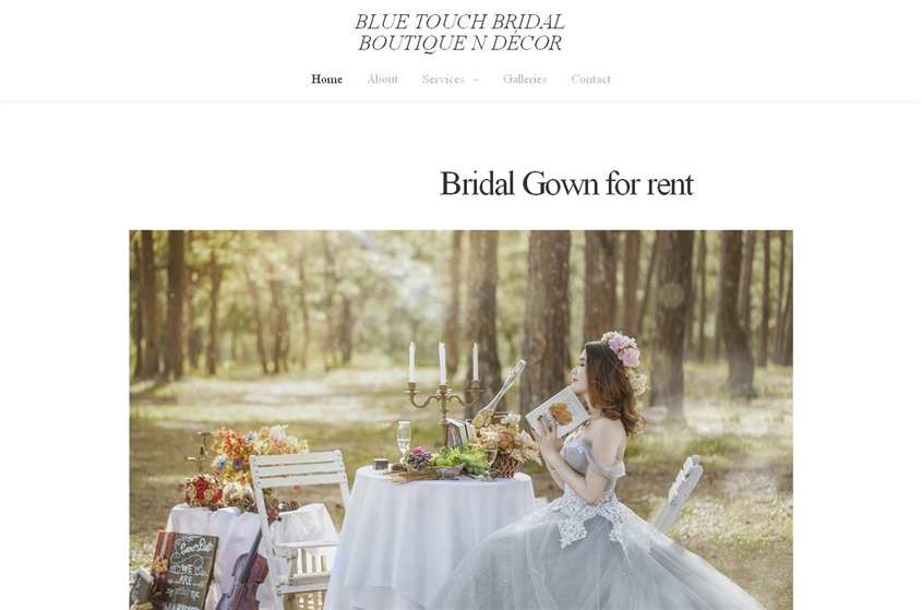 Blue Touch Boutique & Bridal Decor wedding vendor photo