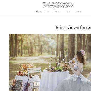 Blue Touch Boutique & Bridal Decor wedding vendor preview