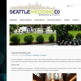 Seattle Wedding DJ