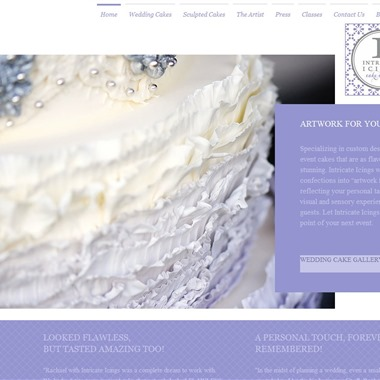 Intricate Icings Cake Design wedding vendor preview