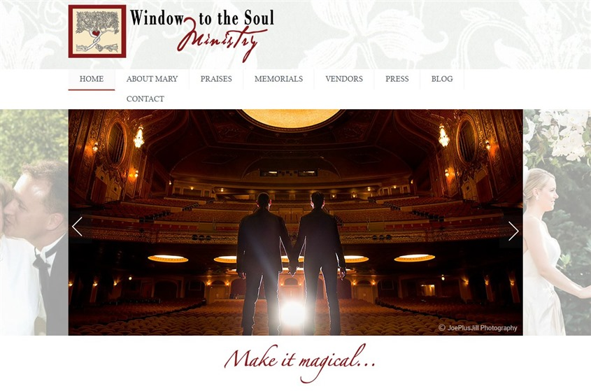 Window to the Soul Ministry wedding vendor photo