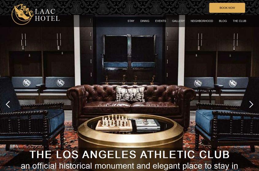 Los Angeles Athletic Club wedding vendor photo
