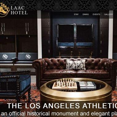 Los Angeles Athletic Club wedding vendor preview