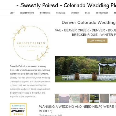 Sweetly Paired wedding vendor preview