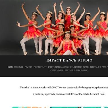 Impact Dance Studio wedding vendor preview