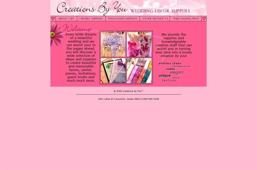 Creations By You wedding vendor photo