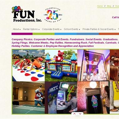 Fun Productions wedding vendor preview