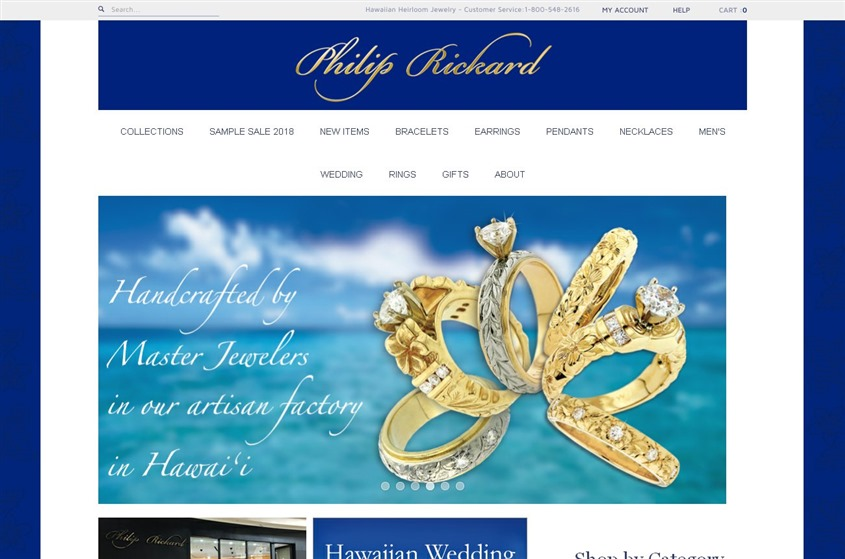 Jewelry by  Philip Rickard wedding vendor photo