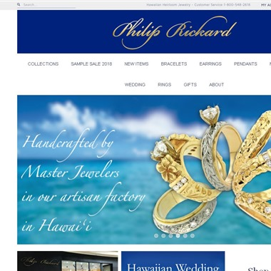 Jewelry by  Philip Rickard wedding vendor preview