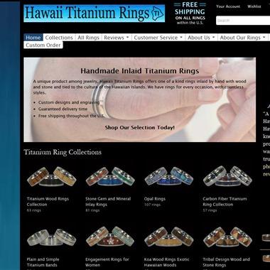 Hawaii Titanium Rings wedding vendor preview