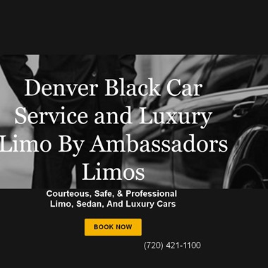 Ambassadors Limos  wedding vendor preview