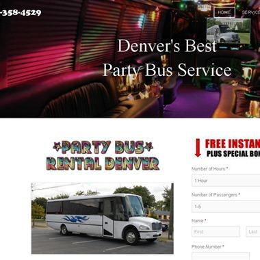 Party Bus Rental Denver wedding vendor preview