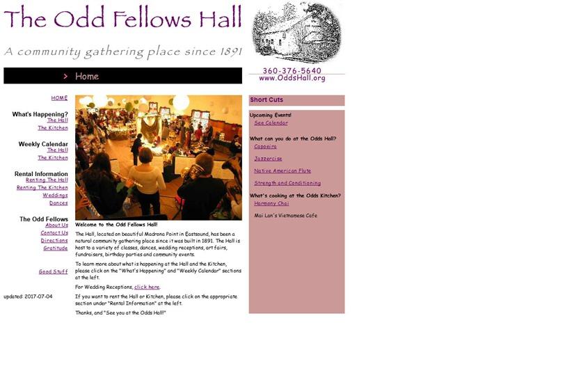 The Odd Fellows Hall wedding vendor photo