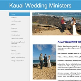 Kauai Wedding Ministers photo