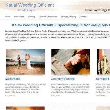 Kauai Wedding Officiant wedding vendor preview