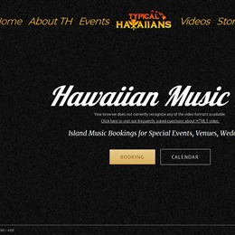Photo of Typical Hawaiians, a wedding musician in Hawaii