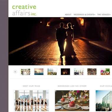 Creative Affairs Inc wedding vendor preview