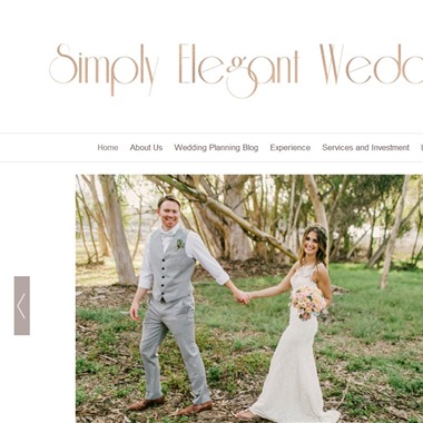 Simply Elegant Weddings wedding vendor preview