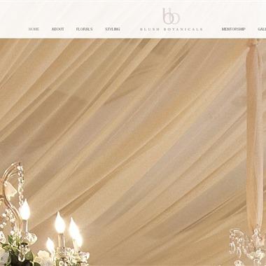 Blush Botanicals wedding vendor preview