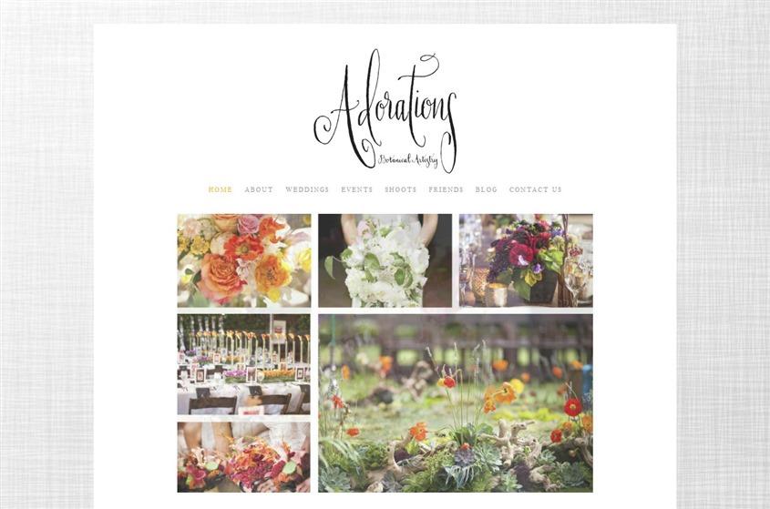 Adorations Botanical Artistry wedding vendor photo
