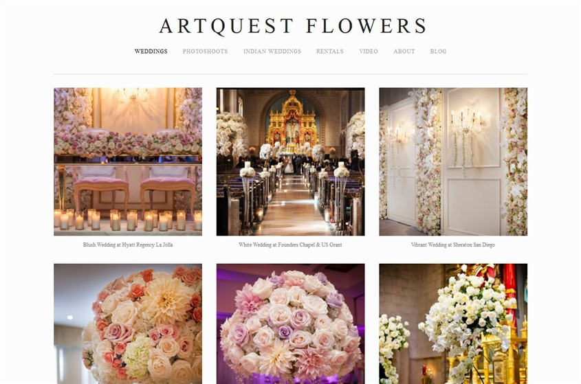 ArtQuest Floral Studio wedding vendor photo