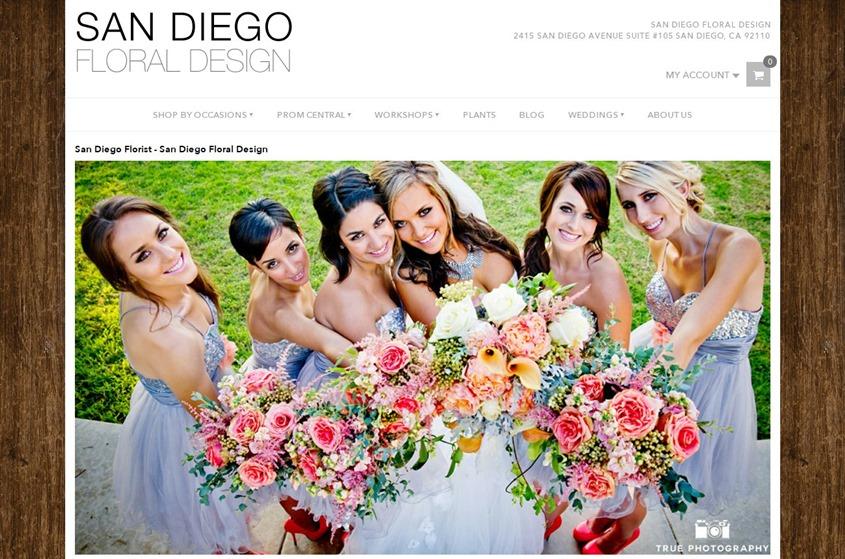 San Diego Floral Design wedding vendor photo
